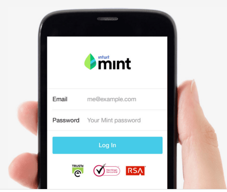 Mint - personal finance software 2015 - 2016