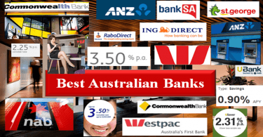 Best Banks in Australia.  Biggest Australian Banks With High Interest Rate Savings Accounts-min