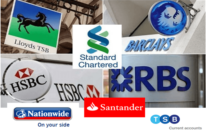 Biggest British Banks and Best Banks in the UK