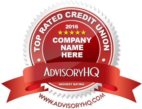Top Rated Credit Union Award Emblem-min