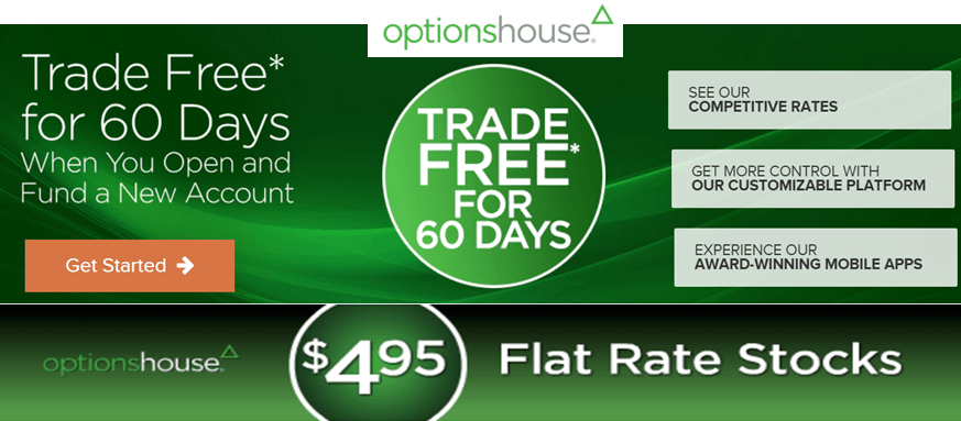 Optionshouse 150 free trades