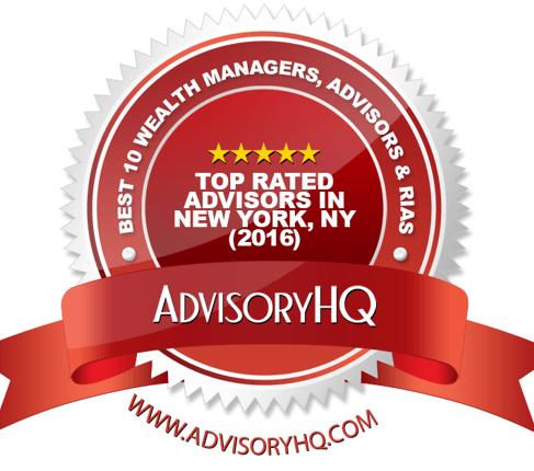 Award Emblem - Best NY Financial Advisors in New York, NY