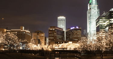 Omaha-Nebraska-Skyline
