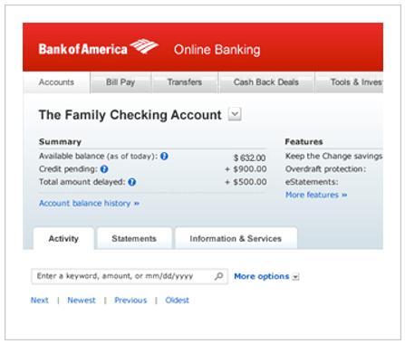 Bank of America Dashboard-min
