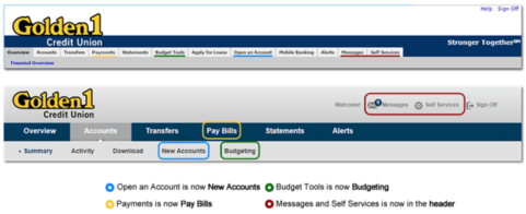 The Golden 1 Credit Union Simple Online Banking-min