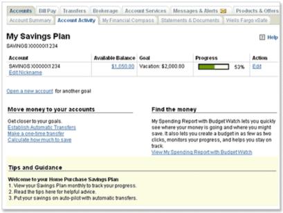 Wells Fargo My Savings Plan-min