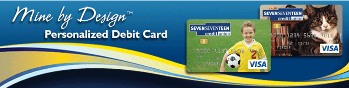 Seven Seventeen Credit Union debit card-min