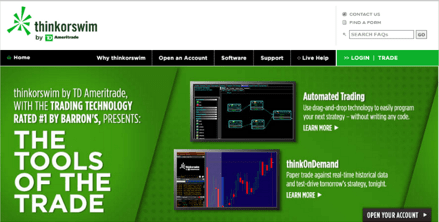 Thinkorswim forex commission