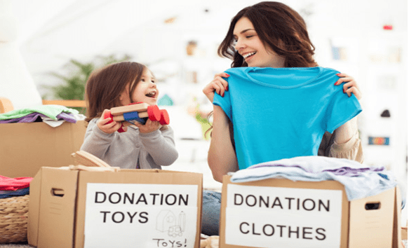 Which Charities Pick Up Donated Clothing