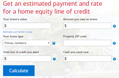 How to Calculate an Equity Line Payment