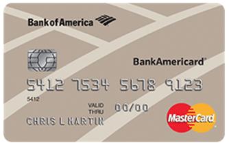 Visa credit card for fair credit