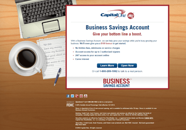 That's why Checking accounts are available both online and in person at Capital One locations–so that you can bank on your schedule. Visit your nearby Capital One location to open your Checking account and get started with awesome free digital tools (and a top-rated mobile app) to help you manage your money, anytime, almost anywhere.
