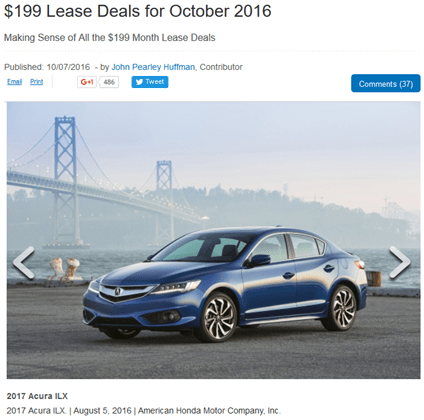 I3 lease deals bay area