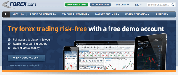 Forex Trading online +++ compare the best FX brokers +++ Lowest