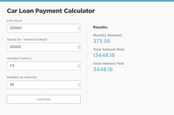top 6 best monthly payment calculators  u0026 installment loan calculators