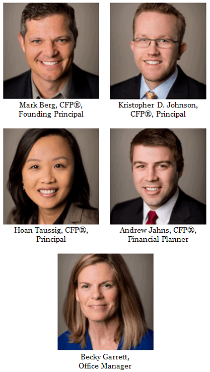 Overview of Timothy Financial Counsel - Team Members