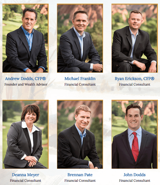 Dodds Wealth Management Group Team Members