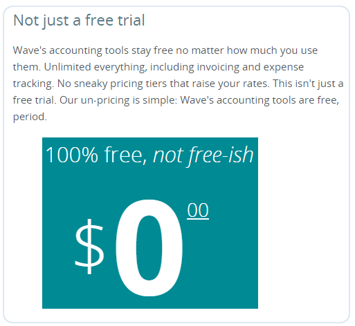Free Accounting Software - Wave