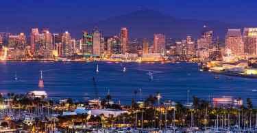 Scenic San Diego Panorama