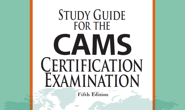 CAMS Certification Review (ACAMS Cost, Exam Questions