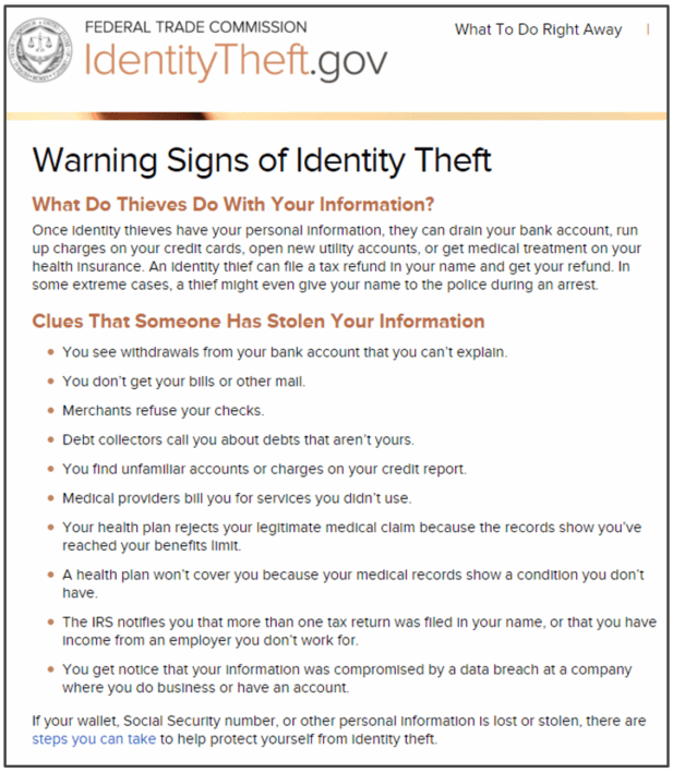ID Theft Protection - Credit Monitoring Services