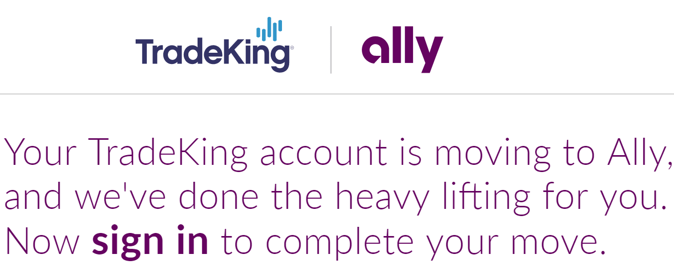 TradingKing moving to Ally