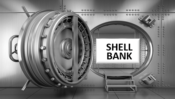 What is a Shell Bank - Definition-min