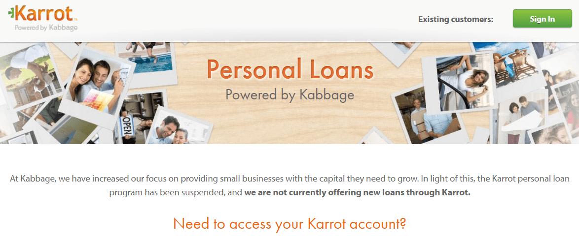 karrot loans