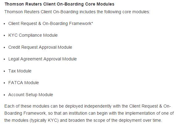 Thomson Reuters Client Onboarding Core Modules-min