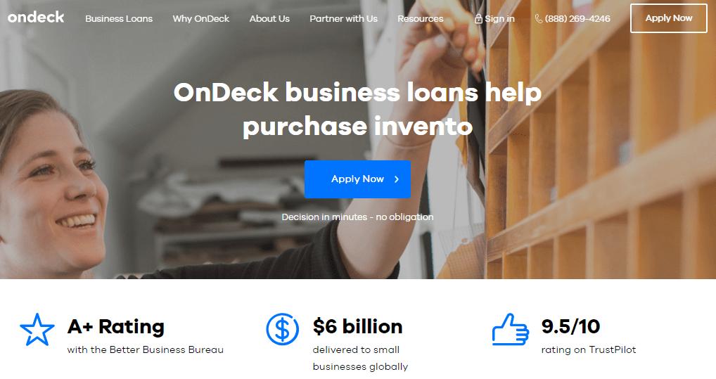 ondeck commercial lending
