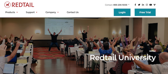 Redtail University - top financial planning software for advisors