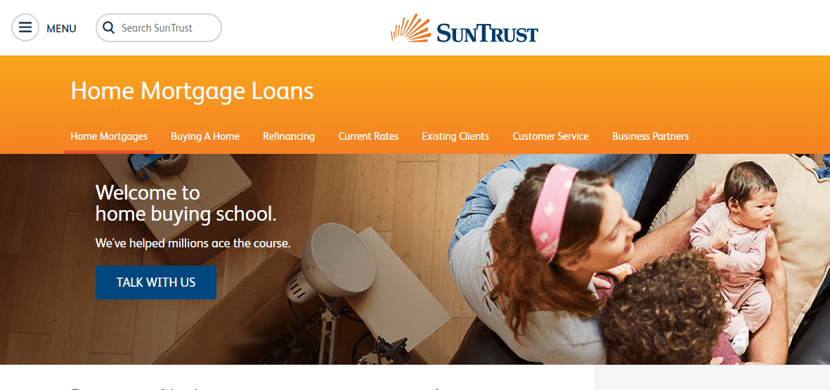 suntrust mortgage review
