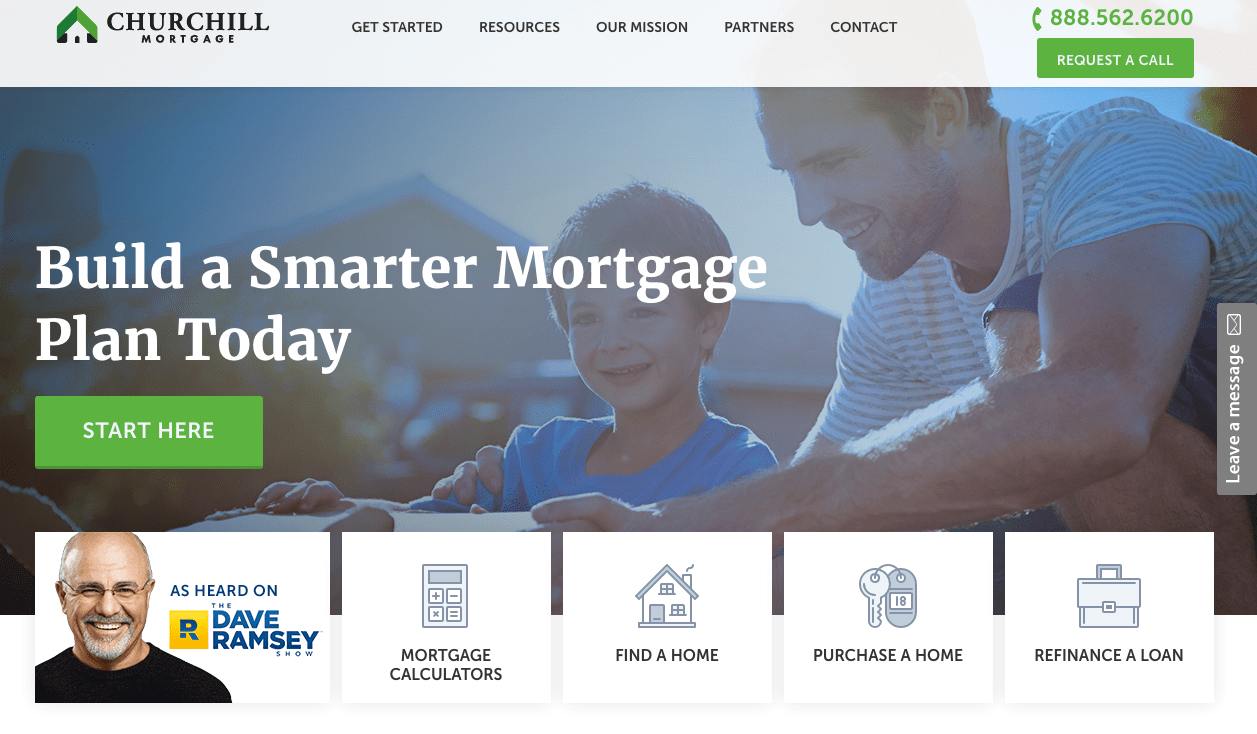 churchill mortgage reviews