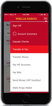 Wells Fargo Banking App - banking apps
