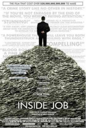 Inside Job - Best Rated Finance Documentaries