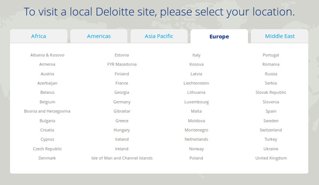 what does deloitte do