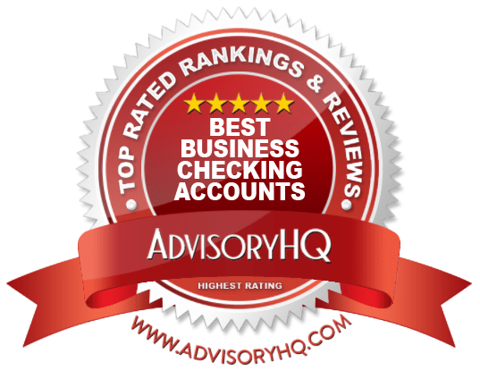 Best Business Checking Accounts Red Award Emblem