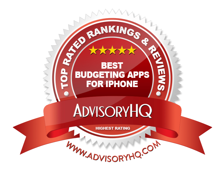 Best Budgeting Apps for iPhone Red Award Emblem