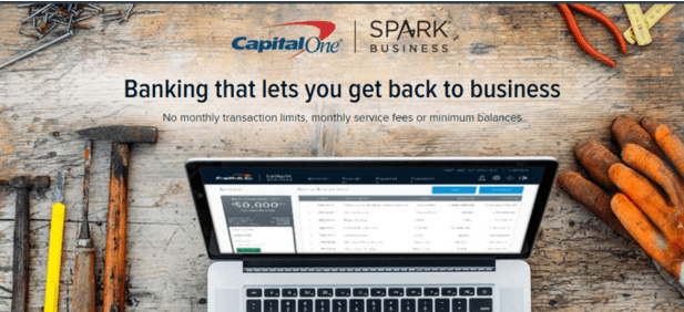 Capital One - online business checking account