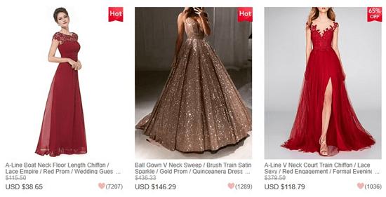 LightInTheBox dresses reviews