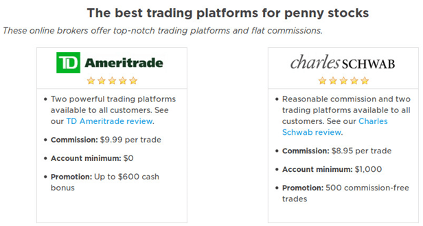 Optionsxpress penny stock commission