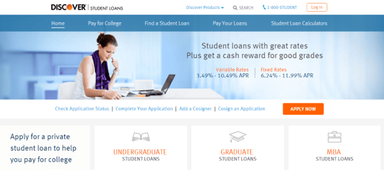 best student loans for college