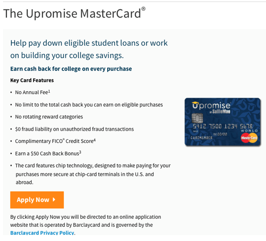 sallie mae credit card review