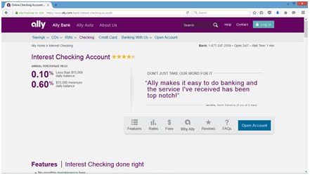 reviews of ally bank