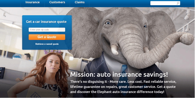 Elephant Insurance Reviews | Coverage Area, Pros & Cons of ...
