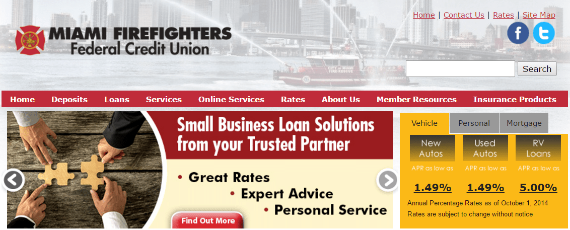 Miami Firefighters Federal Credit Union Review