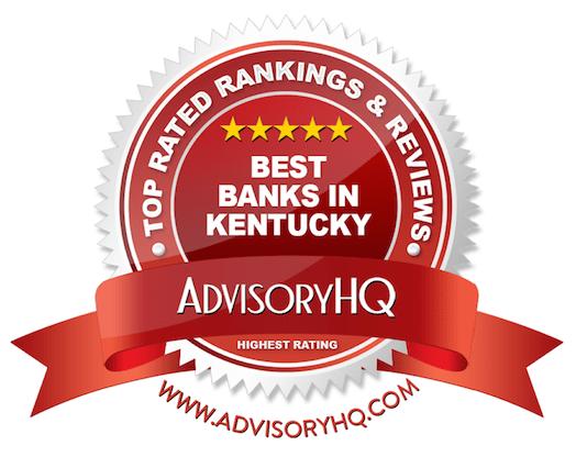 Best Banks in Kentucky Red Award Emblem