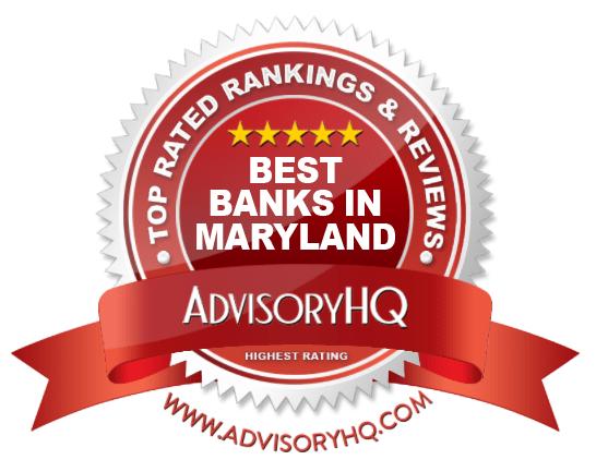 Best Banks in Maryland Red Award Emblem