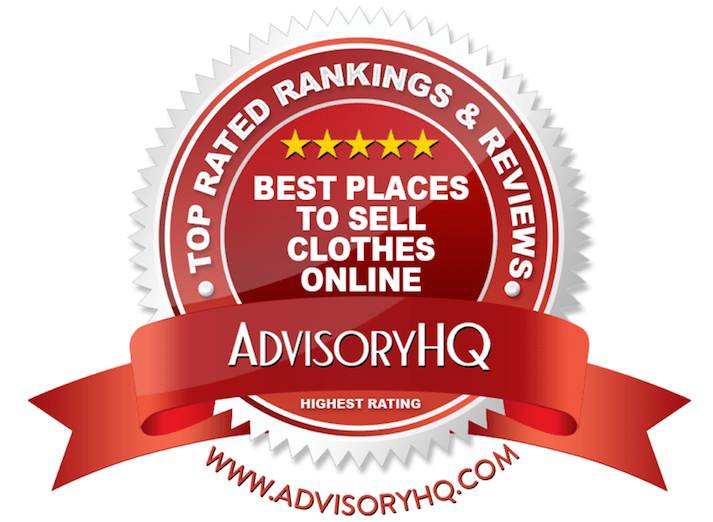 Best Places to Sell Clothes Online Red Award Emblem