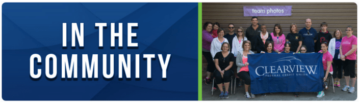Clearview Federal Credit Union Community Involvement Review-min